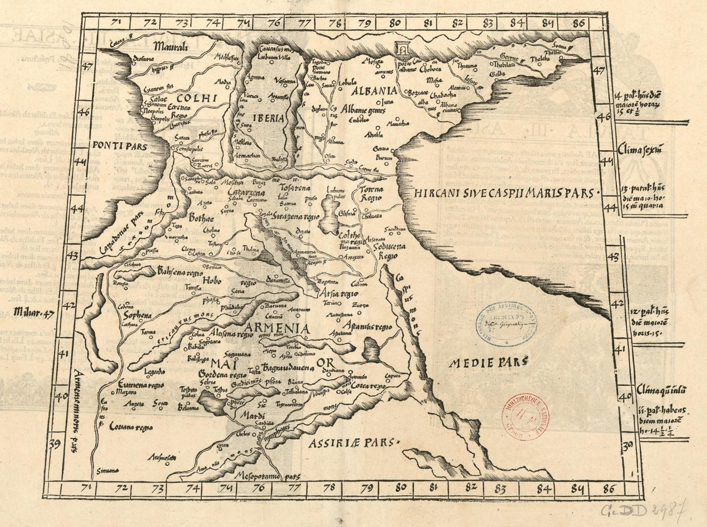 berg ararat map